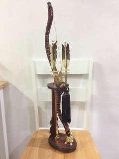 Japanese Bow & Arrow Display