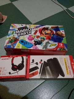 Nintendo Switch Super Mario party console