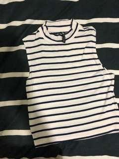Cotton On Striped Sleeveless Top