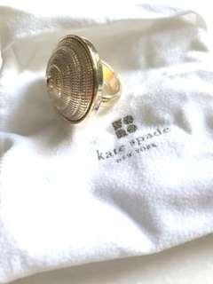 Kate Spade Shore Thing ClamShell Collar Gold Ring