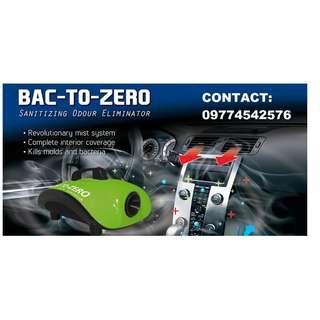 Bac-to-Zero Car Odor Eliminator