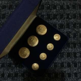 Sporrong Buttons from Royal Family of Sweden
