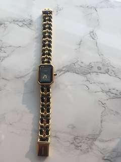 Authentic CHANEL Vintage Watch 18cm strap