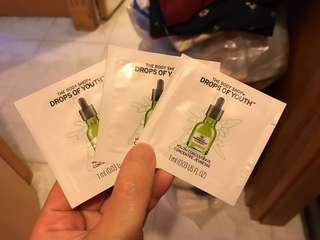 ($1@) Body Shop Drops of Youth Youth Concentrate 1.5ml