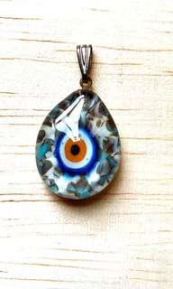 🎉Evil Eyes or Lucky Eyes or Cat Eyes From Turkey 🇹🇷 made in Istanbul pendant