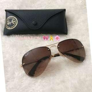 RAY-BAN Aviator Sunglass (Semi rimless)