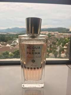 Bought for RM612.00 💯Authentic Guaranteed Acqua Di Parma Rosa Woman Perfume (Used about 10%) 125ml