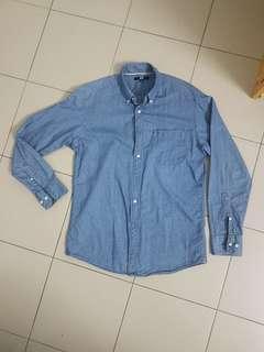 Uniqlo Long Sleeve Button LS Shirt