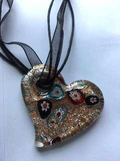 Murano Glass pendent from Venice Italy #OCT10