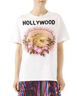 Gucci hollywood emboried tee