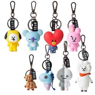 BT21 OFFICIAL CHARACTER KEYRING