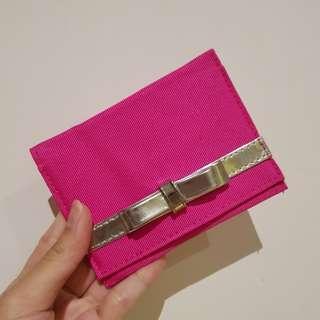 Lancome Pink Card Holder