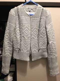 Zara 編織工藝外套