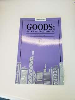 Goods: Sales and securities [Law Books]