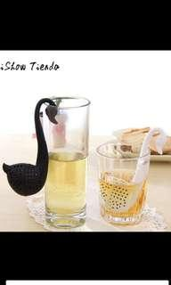 Tea infuser saringan teh black and white