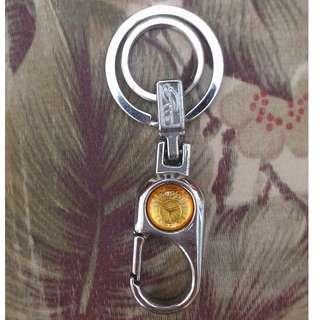 厚款不鏽鋼鑰匙圈 全新