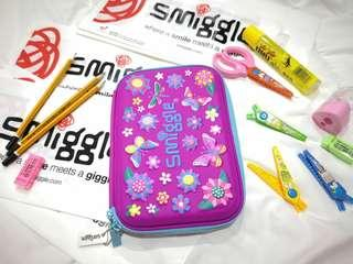 Smiggle Pencil Case Flower Power