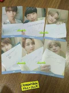 SEVENTEEN YOU MAKE MY DAY TAIWAN SPECIAL PHOTOCARD