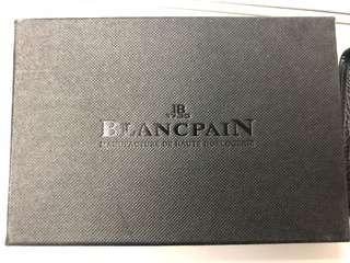 全新Blancpain真皮証件套