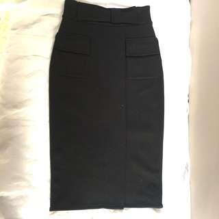 DVF WOOLEN Pencil Skirt