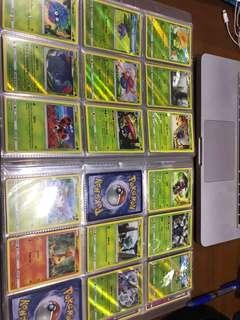 Pokemon Burning shadows ALMOST full set with some GXs