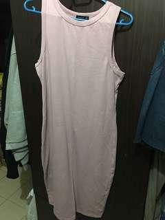 INSTOCK - Purple Pink Slim Dress
