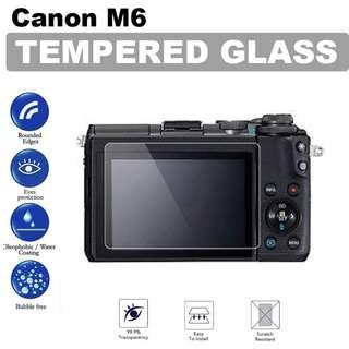 Canon EOS M6 Tempered Glass Screen Protector