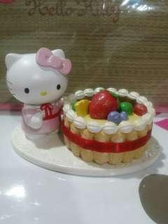 Kitty ceramic display