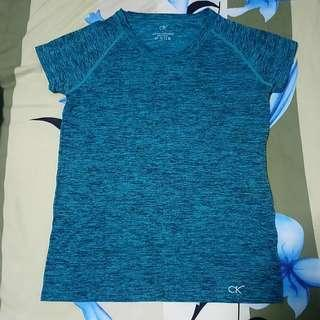 Turquoise sports top