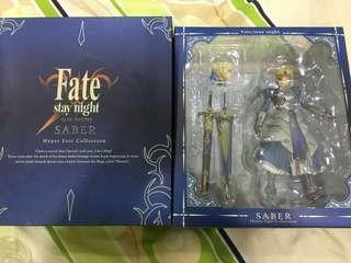 Fate stay night - hyper fate collection - saber action figure