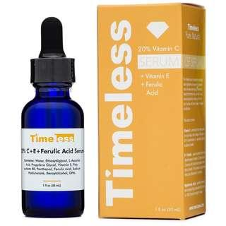 🚚 TIMELESS 20% Vitamin C + E Ferulic Acid Serum 30 ml (USA)