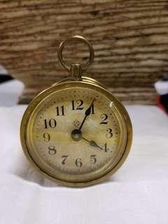古董 Ansonia Bee 上鍊鐘, 1878年4月8日專利。 Antique Ansonia Bee Clock, patent dates April 23,1878