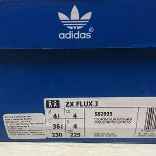 Authentic Adidas Zx Flux Black