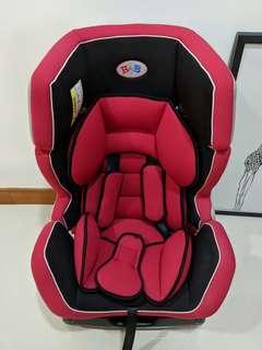 BAB Baby Car Seat front and rear facing 0-6yrs