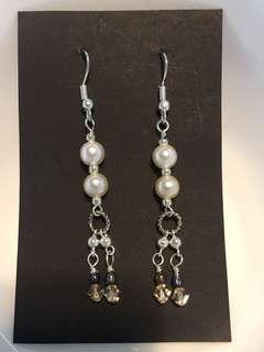 Swarovski Pearls and Crystal