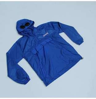 Goggle jacket blue