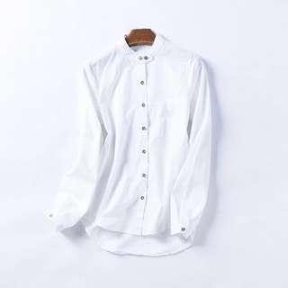 🆕 women's Shirt 外貿女襯衫 中碼 加大 M size XL size