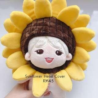 20cm Doll Sunflower Head Cover