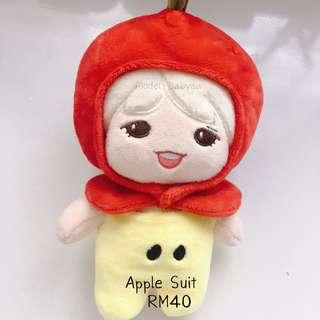 20cm Doll - Apple Suit