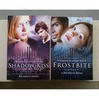 The Vampire Academy Books by Richelle Mead