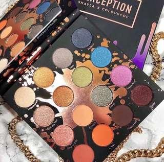 🚚 🌼SALE🌼Colourpop Perception Eyeshadow Palette