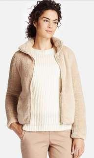 Uniqlo Fluffy Fleece Full Zip Jacket Size S