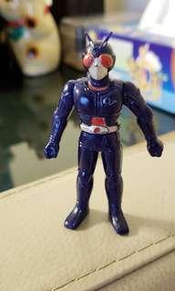BANDAI 懷舊 絕版 菓子盒蛋玩具 幪面超人 Black RX Biorider 悲傷王子 生體