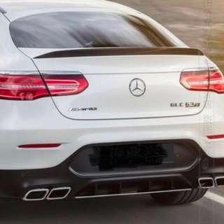 Mercedes 16-18 GLC43 200 300 Boot Lip