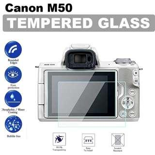 Canon EOS M50 Tempered Glass Screen Protector