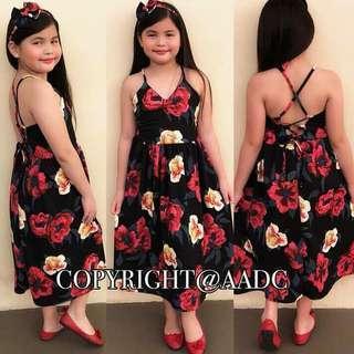 Kiddy Dress w/Turban Good Quality