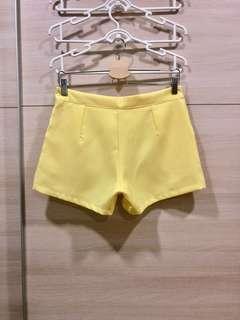 Yellow & Grey Shorts