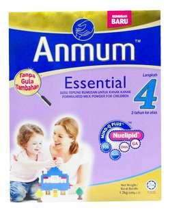 Susu Anmum Essential Step 4 1.2KG