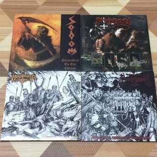 USED LP Combo : Sodom Possessed Morbosidad Necromessiah