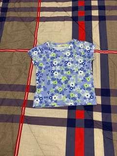 JusTees Flowered Shirt